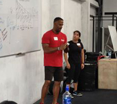 Segundo CrossFit Level 1 course